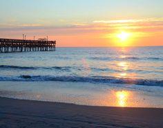 Surfside Beach   South Carolina   Pier   Sunrise   South of Myrtle Beach, SC   One of 8 Piers in the Myrtle Beach area