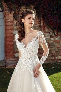 af0aeff579fc4 34 Best Eddy K. Long Sleeve Dresses images in 2019 | Dress wedding ...