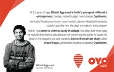 An Entrepreneurial Journey Of Ritesh Aggarwal, Founder of OYO Rooms Digital Marketing Strategy, Digital Marketing Services, Communication Design, Design Agency, Seo, Budgeting, Web Design, Journey, Rooms