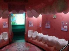 Dentist waiting room|not a home but awesome!!