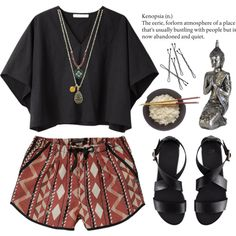 """Little buddha"" by n-eutral on Polyvore"