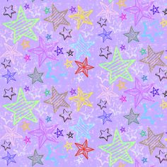 Dreams of  Stars fabric by katawampus on Spoonflower - custom fabric