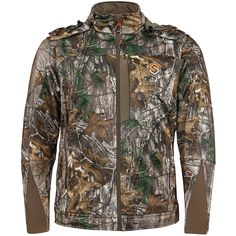 Scent-Lok Men's Helix Jacket Polyester Real tree Extra Camo – Investment Shopping