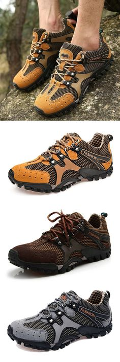 Hiking Shoes. Hiking Mesh Shoes. Running Sports Shoes. Climbing Shoes. Athletic Shoes. Running Mesh Shoes. 4 Colors for Choice. Size : US 6.5-11