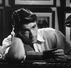 gregory peck, spellbound i think, i forgot what i was going to type....for obvious reasons