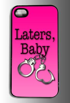 Fifty shades of Grey Inspired Laters Baby and by customcotton, $20.00