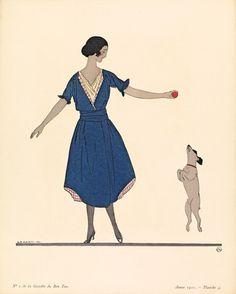 Hop la! by Gazette du Bon Ton - art print from King & McGaw
