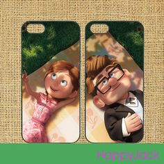 carl and ellie - iPhone 5 case, iphone 4 case, ipod touch cas, ipod case, samsung galaxy S3 , galaxy S4 case, note 2 case