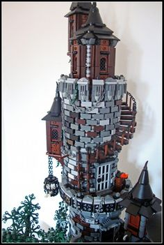 Sanctuary Of The Damned: A LEGO® creation by Luke Watkins : MOCpages.com