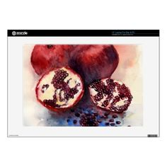 pomegranate decals for laptops