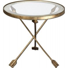 Arrow Forged Iron  Accent Table - Homeware - $359 - domino.com