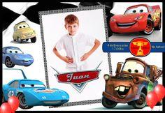 Invitaciones cumpleaños Cars - BBCO