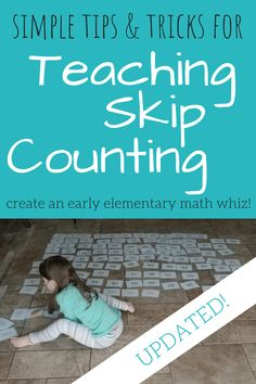 Skip Counting Tips a
