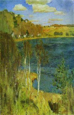 The Lake by Isaac Levitan
