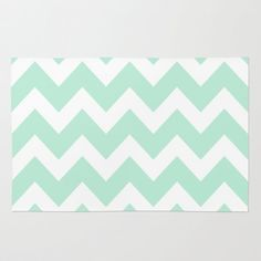 chevron carpet mint green - Google Search
