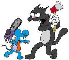 itchy and scratchy - Bing images