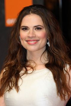Hayley Atwell at the BAFTA Awards 2012 - hair and beauty