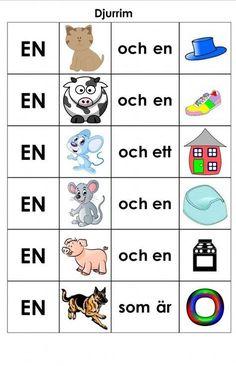 Preschool Rules, Preschool Music, Montessori Preschool, Preschool Crafts, Sign Language Book, Learn Swedish, Swedish Language, Kids Writing, Reggio Emilia