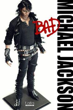 Custom Michael Jackson Toy Bad | Discussione: [CUSTOM] Michael Jackson BAD by Lalla