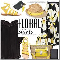 Summer Floral Skirt
