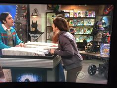 Train Table by Vintage Industrial Furniture seen on the show Big Bang Theory
