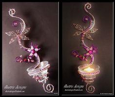 Candle holder / suncatcher van illustrisdesigns op Etsy