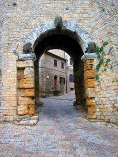 Volterra, Tuscany, Italy: Etruscan ruins and Twilight series  ;)