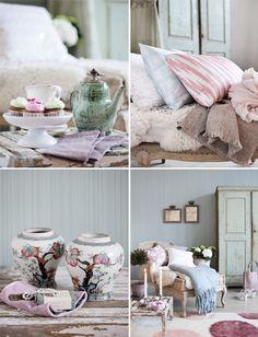 Primavera de la vendimia en colores pastel Tonos ♥ Винтидж пролет в пастелни цветове | 79 Ideas