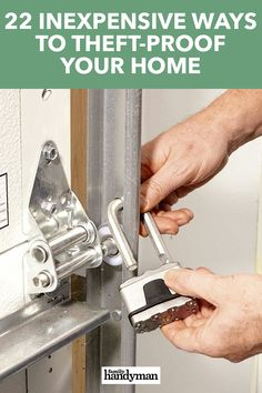 Best Home Security System, Home Security Tips, Home Fix, Home Protection, Design Your Dream House, Diy Home Repair, Home Hacks, Diy Hacks, Home Safety
