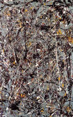 "Jackson Pollock, ""Phosphorescence"""