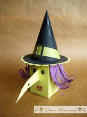 Warty Witch Gift Box - Free Template