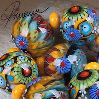 "Romana.Lampwork.Beads - ""Herb garden"""