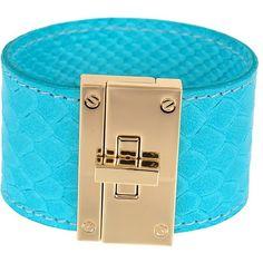 CC Skye Resort Cuff (€135) ❤ liked on Polyvore featuring jewelry, bracelets, turquoise, 18k jewelry, 18 karat gold jewelry, cuff jewelry, cc skye and 18k bangle