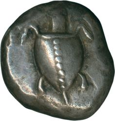 Greece: Aigina, 520-480 BC, Stater, silver 12.14 g. Sea turtle / divided inkuses quadrate. Roses Coll. 219 comp. Extremly fine with nice toned. Certificate Knight    Dealer  Schwanke GmbH    Auction  Minimum Bid:  600.00 EUR