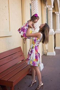 Mommy and Me Outfits from  JOEY et CHLOE. Get your favorite matching mother daughter outfits at http://www.joeyetchloe.com. Here: NICOLE dress $265 and JOEY dress from $115. Happy Shopping!