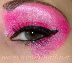 Jem and the hologram makeup tutorial