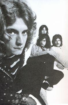 "babeimgonnaleaveu: "" Led Zeppelin photographed by Ron Raffaelli, 1969. """