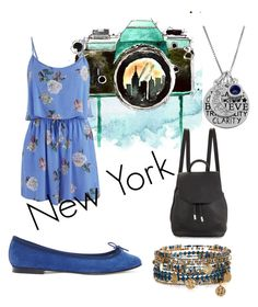 """•New York•"" by xtaytaybananax ❤ liked on Polyvore featuring Accessorize, Jewel Exclusive, MINKPINK, Repetto and rag & bone"