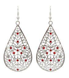 Buy traditional orange dangler earrings for women. danglers-drop online