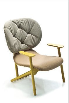 Klara Armchair at Hub Furniture Led Furniture, Furniture Design, Toddler Lounge Chair, Office Chairs For Sale, Cinema Chairs, Yellow Armchair, Wooden Armchair, Aging Wood, Bedroom Chair