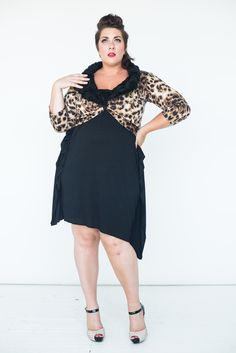 Re/Dress Online - Zsa Zsa Leopard Shrug , $44.00 (http://www.redressnyc.com/zsa-zsa-leopard-shrug/)