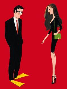 Creative Fashion Illustrations by Jordi Labanda http://www.cruzine.com/2012/12/11/creative-fashion-illustrations-jordi-labanda/