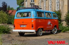 VAU-MAX.de - Artikel - Busreisen mal etwas anders – VW T2 als junggebliebener Surf-Bus