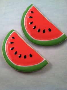 Items similar to watermelon sugar cookies, summer favor, 1 dozen on Etsy Watermelon Sugar Cookies, Iced Sugar Cookies, Watermelon Birthday Parties, Fruit Party, Cookie Cake Designs, Icing Techniques, Summer Cookies, Cute Desserts, Birthday Cookies