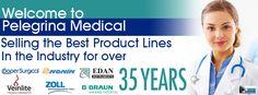 Pelegrina Medical ZOLL, Edan, Nonin, AED, Oximeter, ECG and Medical Equipment