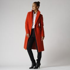 Rene Storck Wool Long Coat - Huzza