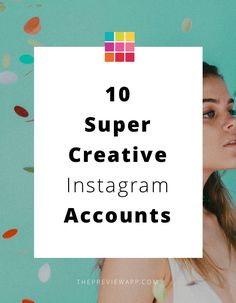 Super creative Instagram accounts. #instagram #instagramtips #instagramtheme #feedgoals #socialmedia #instagrammarketing #creativity #previewapp