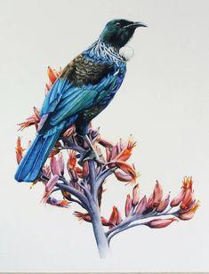 Watercolor Artwork, Watercolor Portraits, Watercolor Animals, Kiwiana, Bird Art, Custom Art, Pet Portraits, Animals And Pets, Art Pieces