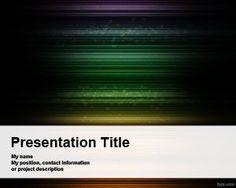Naive Dark PowerPoint Template
