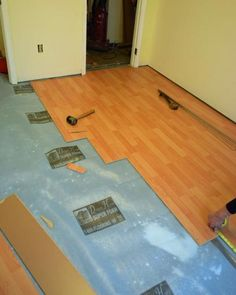 254 best Laminate Floors images on Pinterest   Flooring ideas     DIY Network has step by step instructions on how to rip out old carpeting